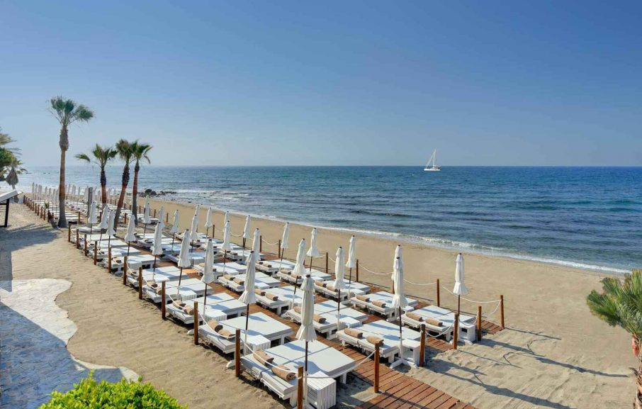 Plage, Hotel Fuerte Marbella, Malaga, Espagne