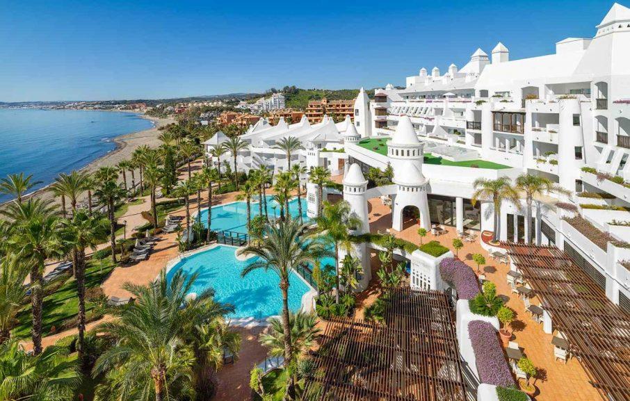 Vue aérienne, Hôtel H10 Estepona Palace, Malaga, Espagne