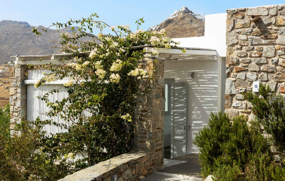 Vue extérieure, Appartement, Hôtel Rizes, Serifos, Grèce
