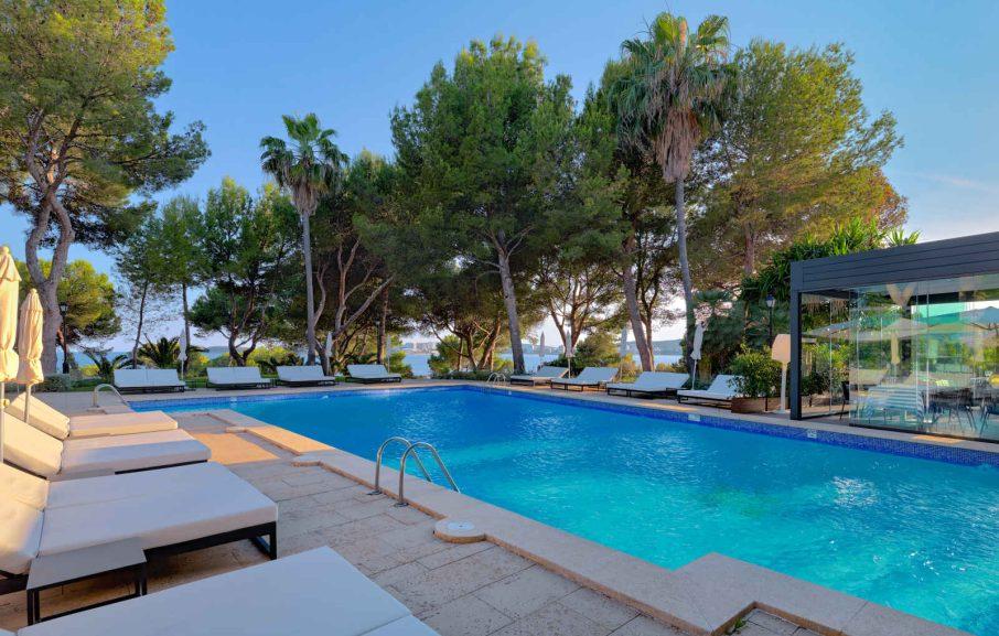 Piscine, Hôtel H10 Punta Negra, Majorque, Baléares, Espagne
