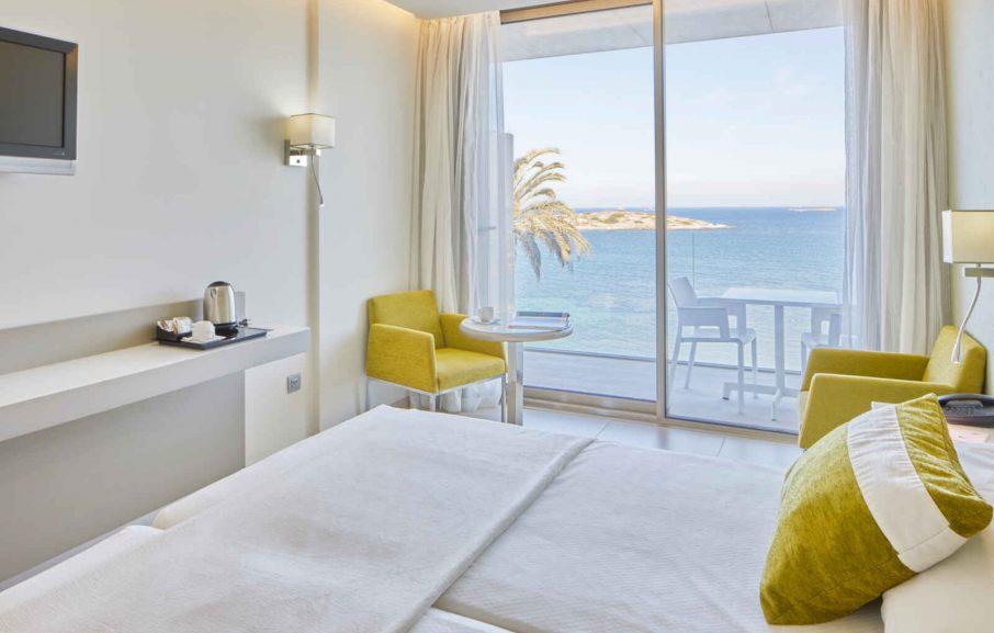 Chambre Standard vue mer, Hôtel Torre del Mar, Ibiza, Baléares