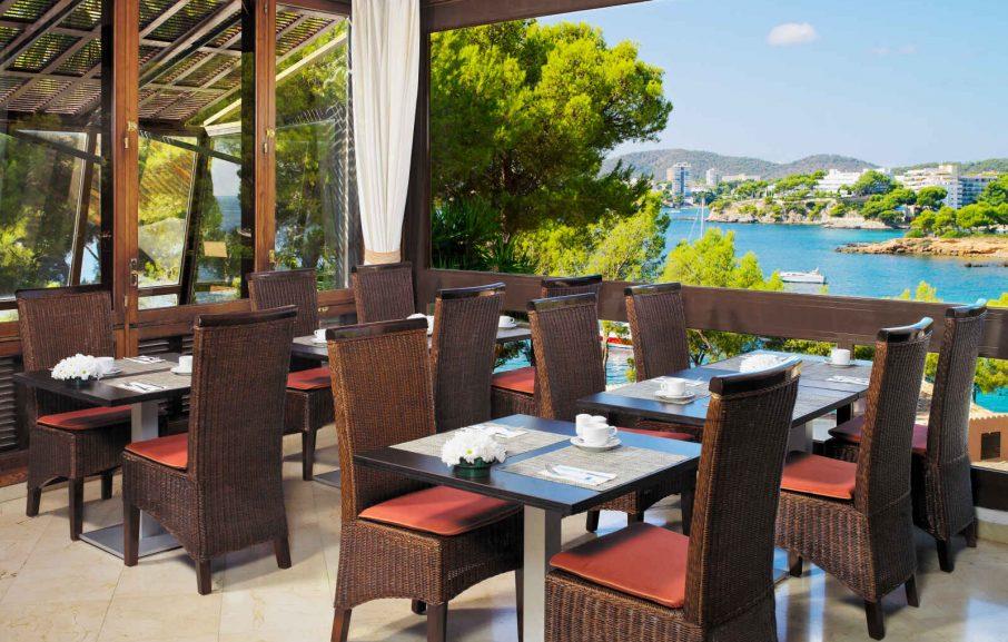 Restaurant Panoramique, Hôtel H10 Punta Negra, Majorque, Baléares, Espagne