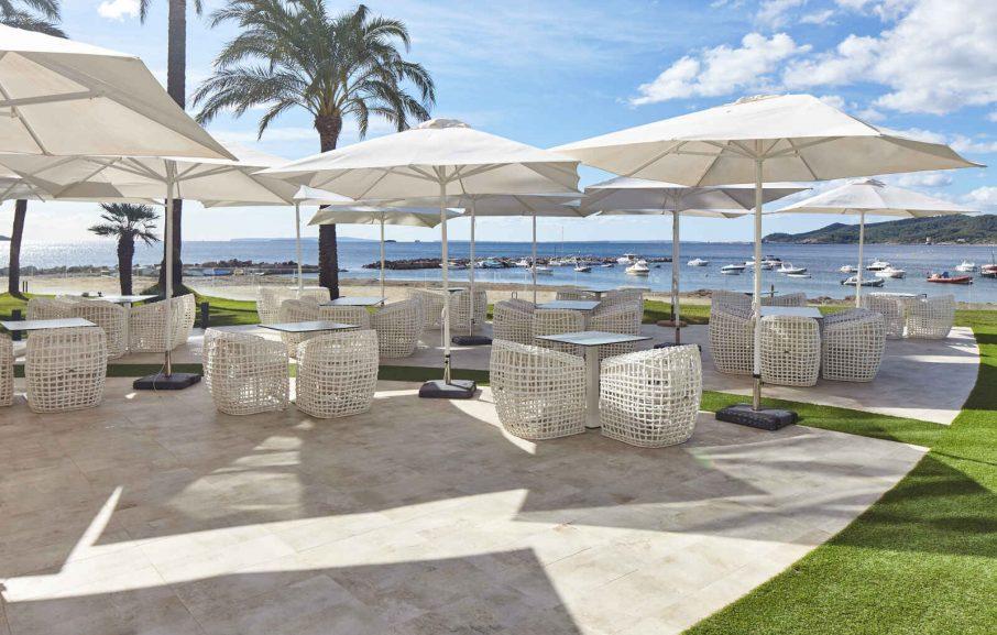 Restobar Miramar, Hôtel Torre del Mar, Ibiza, Baléares