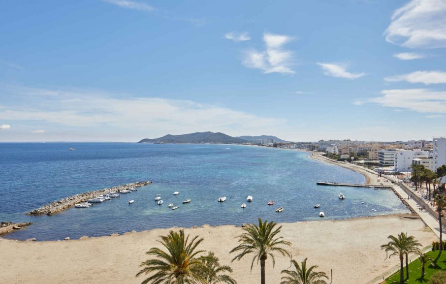 Vue extérieure, Hôtel Torre del Mar, Ibiza, Baléares