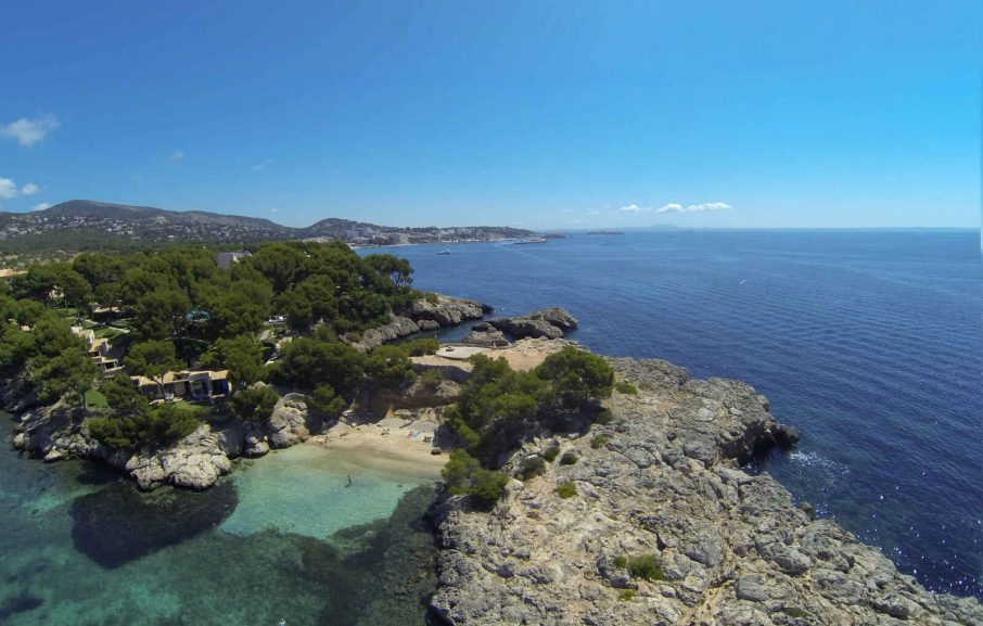 Vue aérienne, Hôtel H10 Punta Negra, Majorque, Baléares, Espagne
