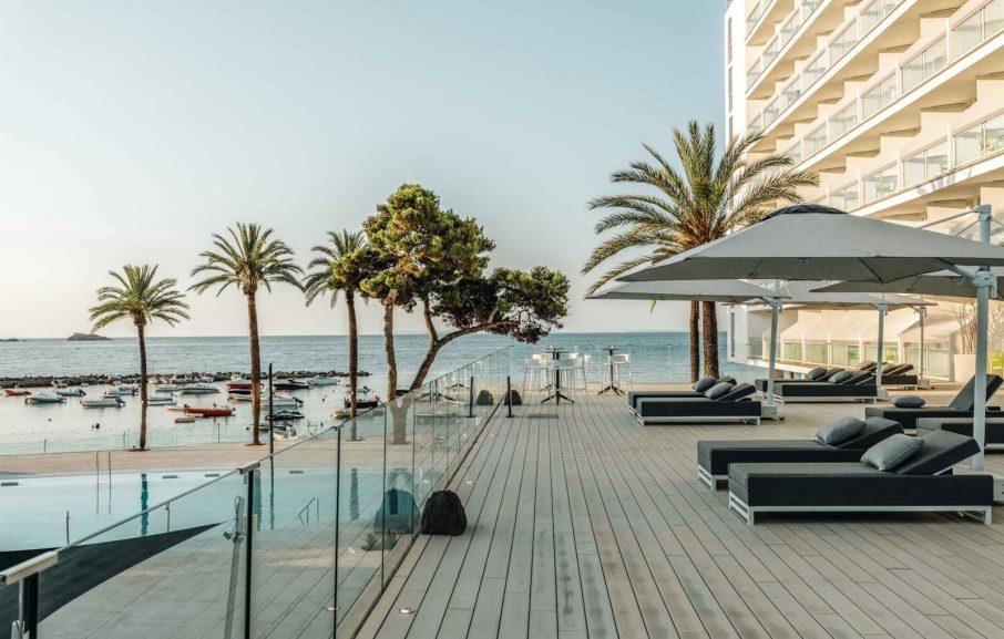 Terrasse, Hôtel The Ibiza Twiins, Ibiza, Baléares, Espagne