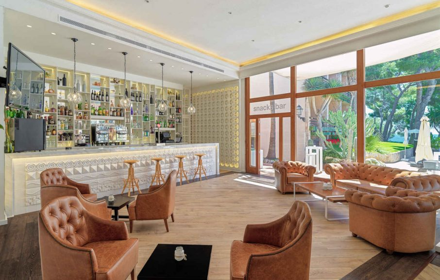 Bar Lounge, Hôtel H10 Punta Negra, Majorque, Baléares, Espagne