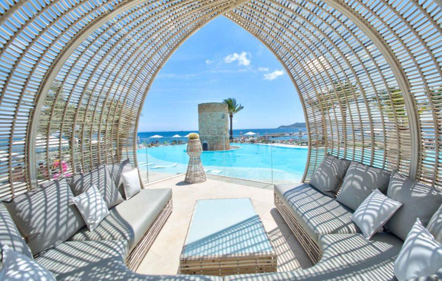 Cabana, Hôtel Torre del Mar, Ibiza, Baléares