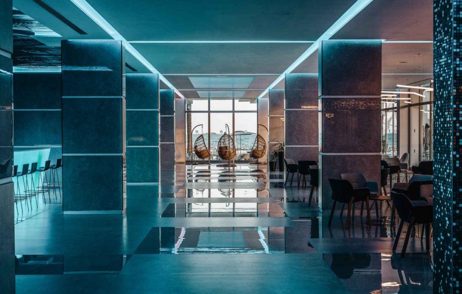 Life lounge Bar, Hôtel The Ibiza Twiins, Ibiza, Baléares, Espagne