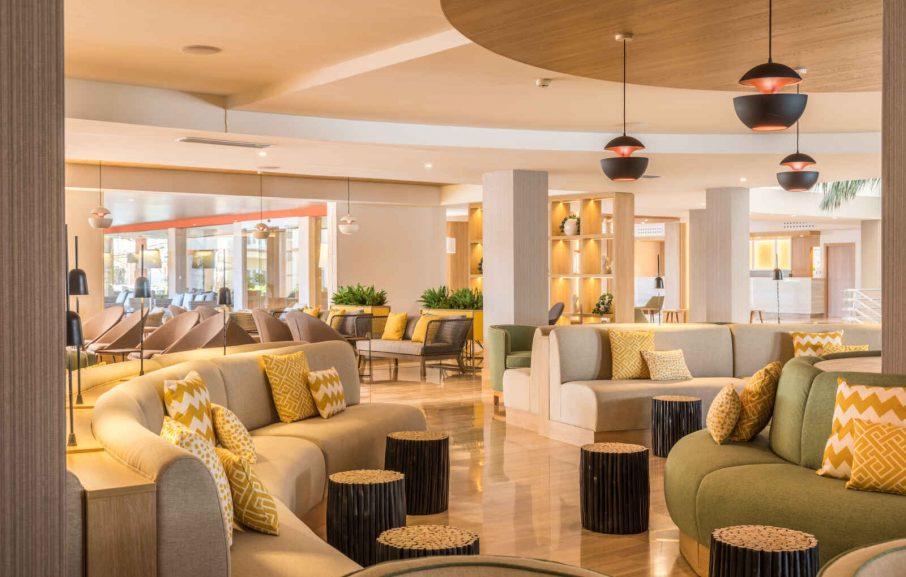 Lounge, Hôtel Zafiro Bahia, Majorque, Baléares, Espagne