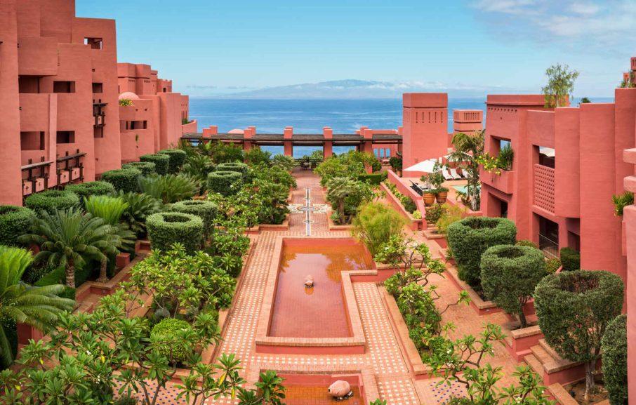 Vue extérieure, The Ritz-Carlton Abama, Santa Cruz de Tenerife, Espagne