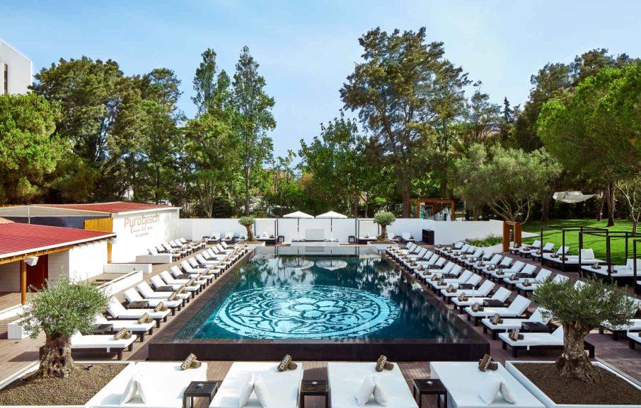 Pool PuroBeach Restaurant, Tivoli Marina Vilamoura Algarve Resort, Quarteira, Portugal