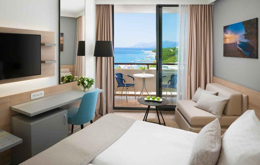 Superior Family Room, Valamar Meteor Hotel, Makarska, Croatie