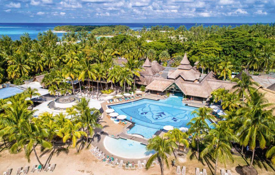 Vue aérienne, Shandrani Beachcomber Resort & Spa, Ile Maurice