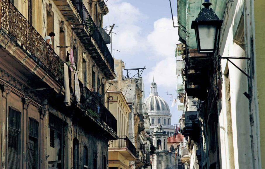 View on Capitol of Havana, Cuba