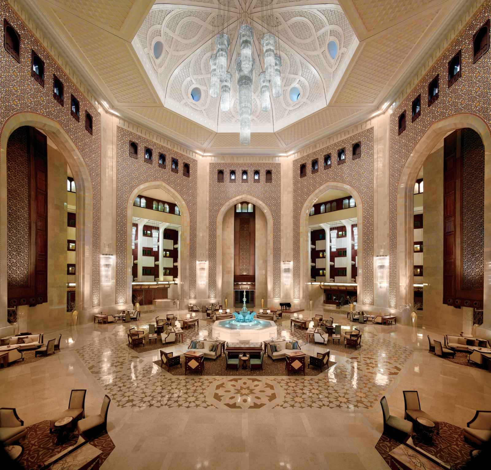 Oman : Al Bustan Palace, A Ritz-Carlton Hotel