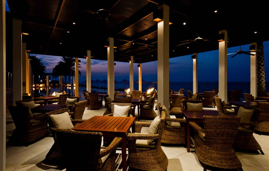 Restaurant, The Chedi Muscat, Mascate, Oman