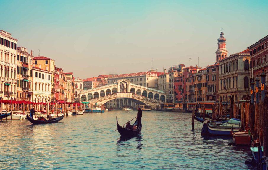 Pont Du Rialto, Venise, Venetie, Italie
