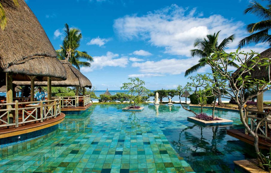 Piscine, La Pirogue Resort & Spa, Ile Maurice