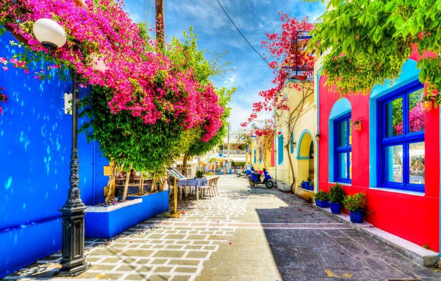 Ruelle, Kos, Grèce