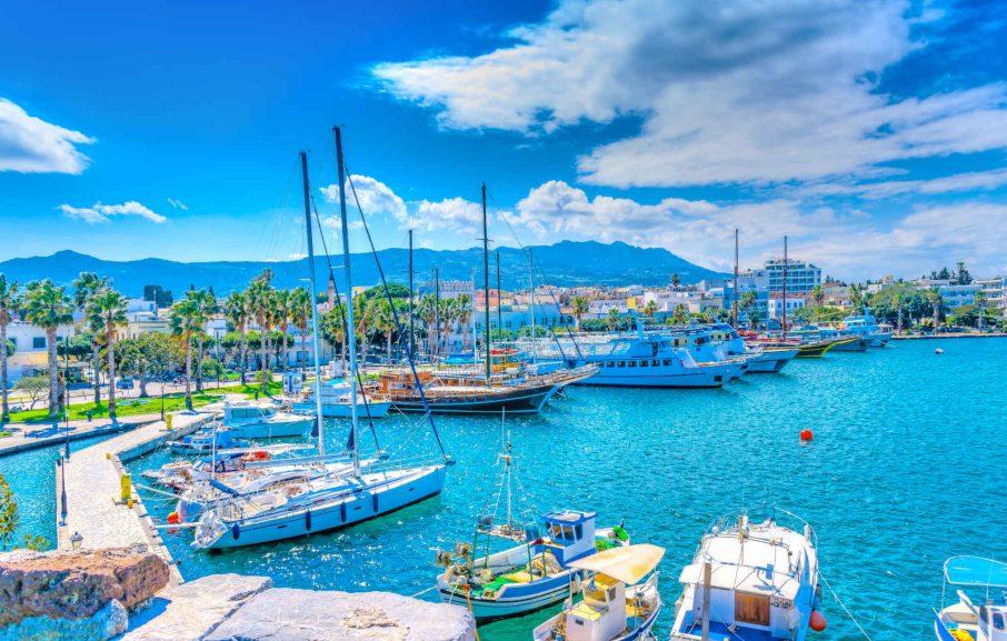 Port principal, Kos, Grèce