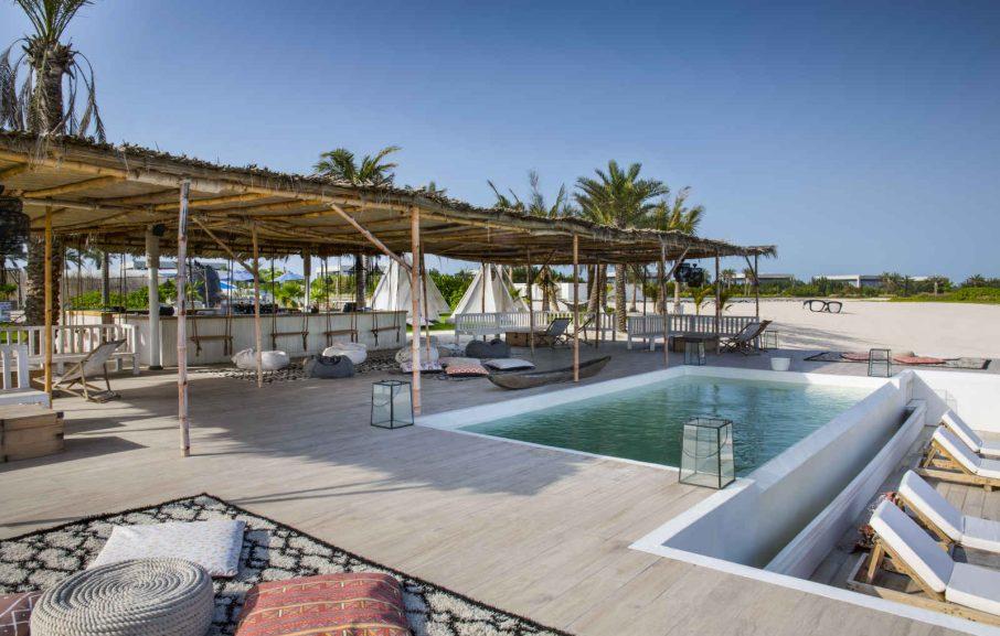 Aire de détente Smokin Pineapple, Zaya Nurai Island, Abou Dhabi, Émirats Arabes Unis