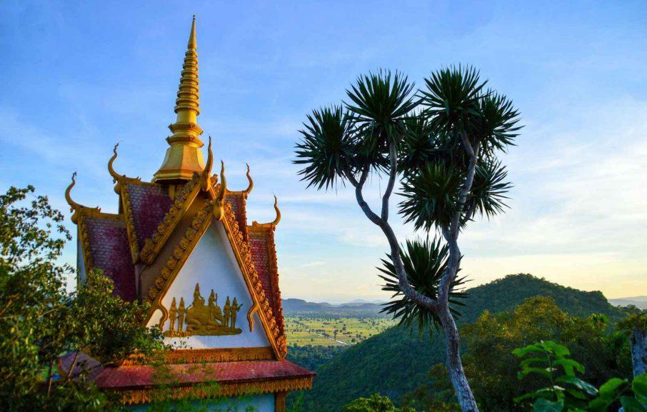 Pagode Phnom Sampeau, Battambang, Cambodge
