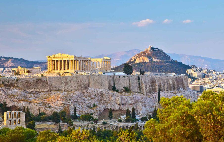 Acropole, Athènes, Grece