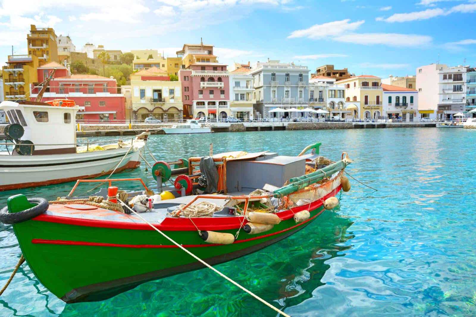 Crète : Crète picturale