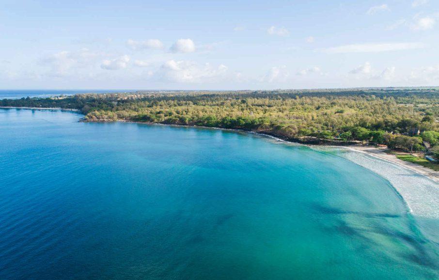 Vue aérienne, hôtel Veranda Tamarin, Ile Maurice