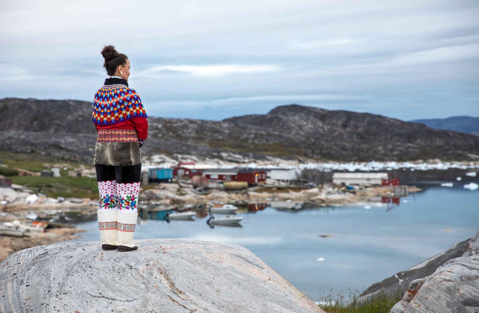 Groenland : Villages inuits au Groenland