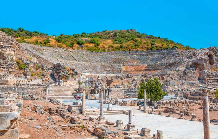 Site archéologique d'Ephèse, Turquie