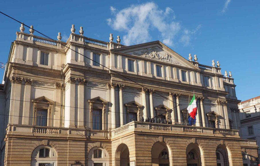 La Scala à Milan, Italie