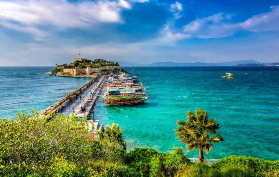 Pigeon Island, Kusadasi, Turquie