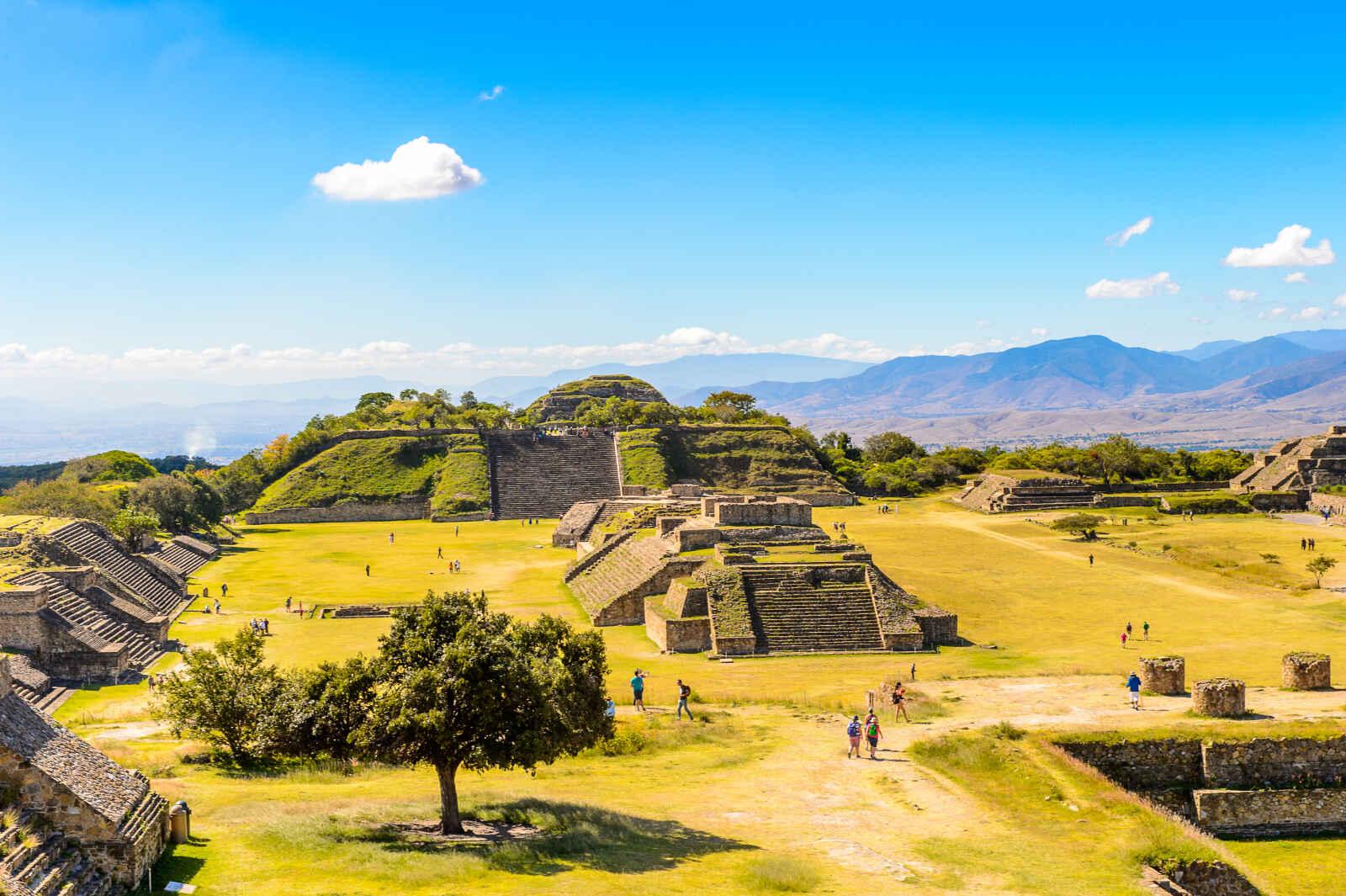 Mexique : Cités dorées du Mexique