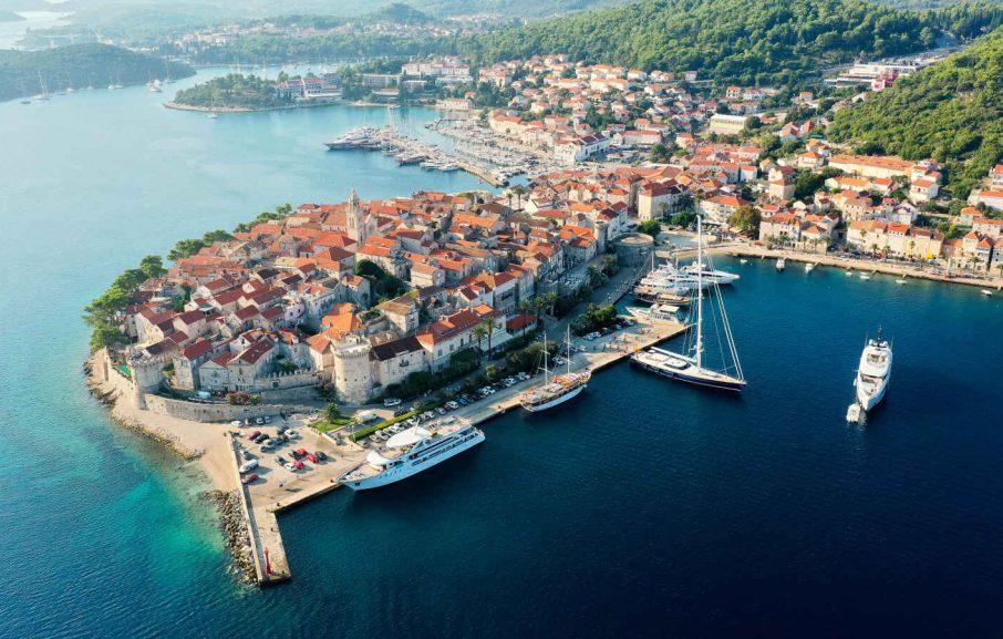 Korčula, Croatie