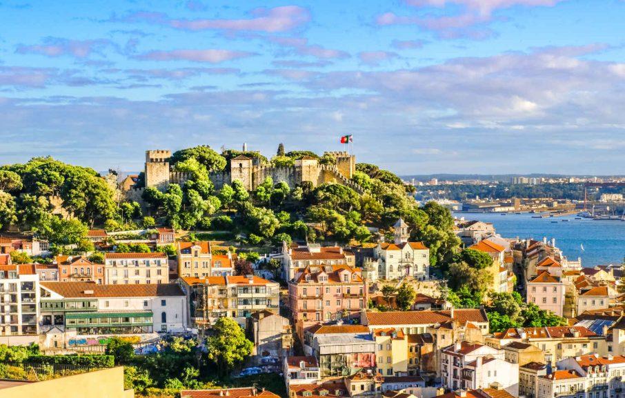 Château St Georges, Lisbonne, Portugal