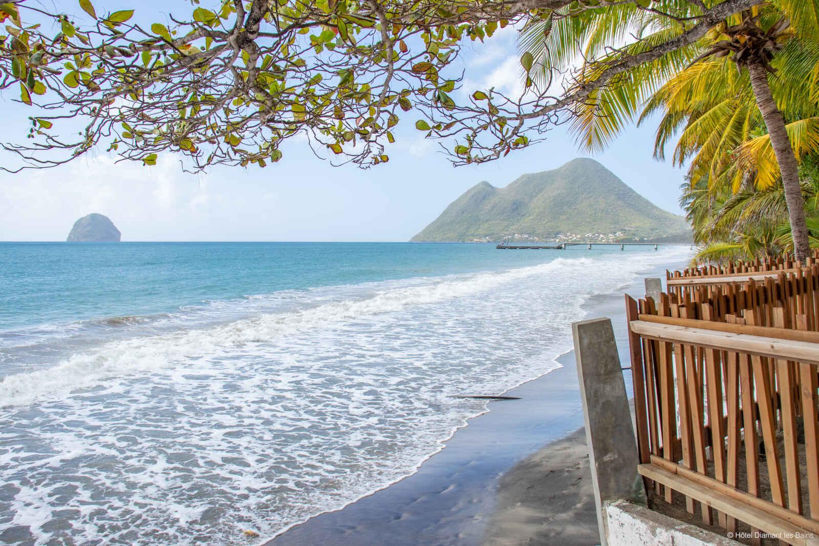 Martinique : Diamant Les Bains - Résidence Hôtelière