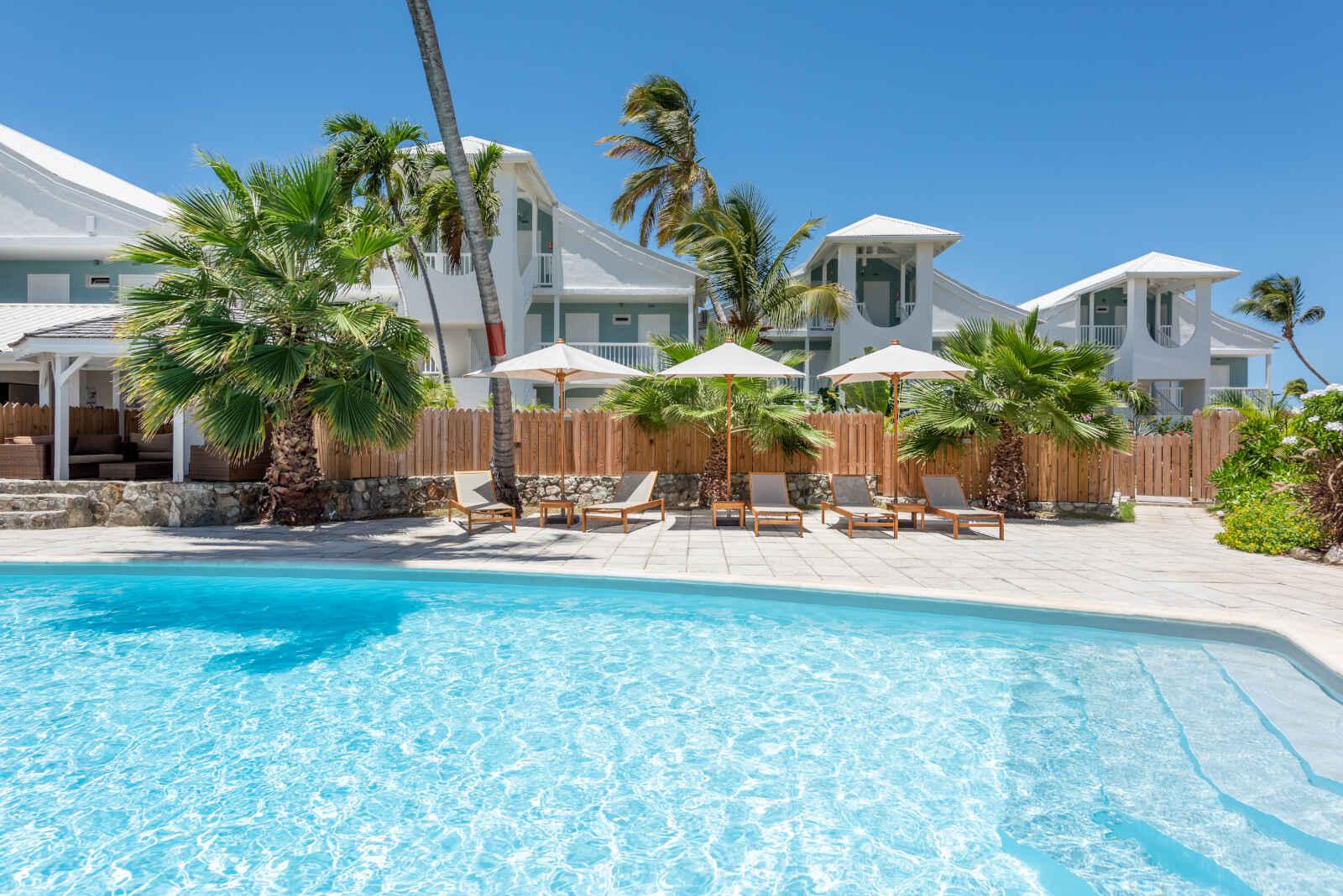 Saint Martin : La Playa Orient Bay